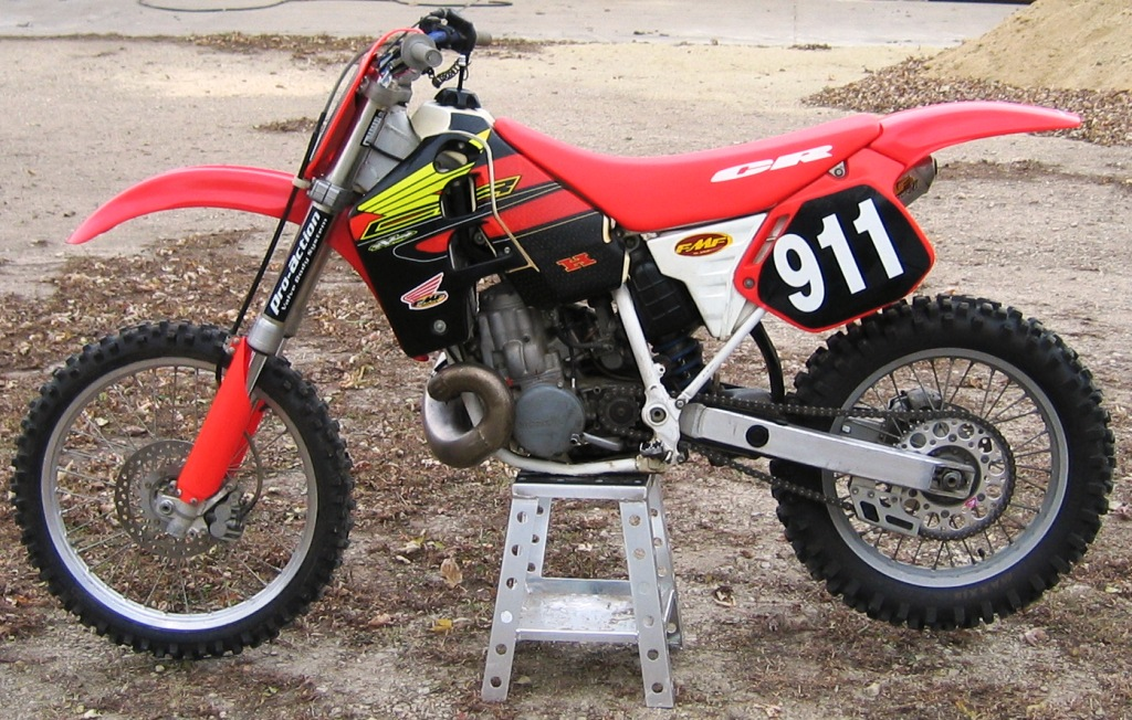 Dirt Bike Races 500cc Honda CR