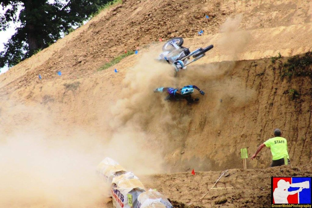 The hill was unkind to 2015 Women's class champion Amber Fraedrich